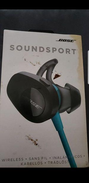 Bose Soundsport wireless headphones for Sale in Austin, TX