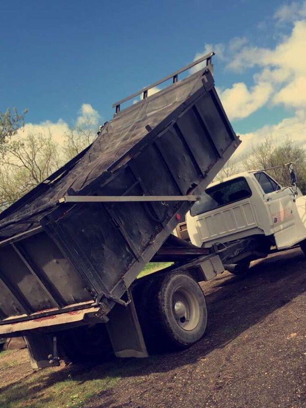 Dirt and gravel transportation