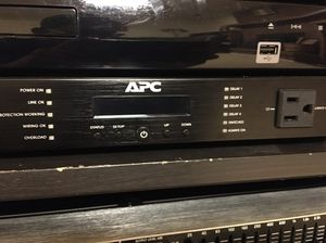 APC G5 POWER CONDITIONER AND SURGE PROTECTOR. for Sale in Charleston, WV