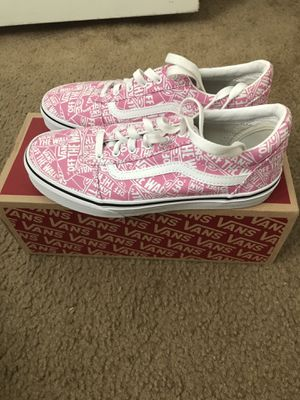 Vans girls size 5 with box for Sale in Tampa, FL