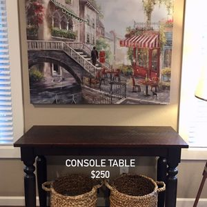 World Market Console Table for Sale in Milwaukie, OR