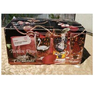 Vintage *NIB* Indiana Glass 12 Days of Christmas for Sale in Hampton, VA