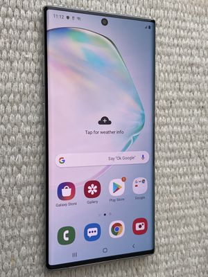 Like New Unlocked Samsung Galaxy Note 10 in excellent condition. Looks like new. Works with Verizon, Att, Tmobile, Metro pcs, Cricket and overseas. for Sale in San Francisco, CA