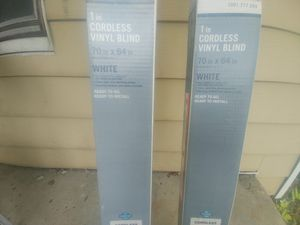 Blinds, Cordless Vinyl for Sale in Whitehall, OH