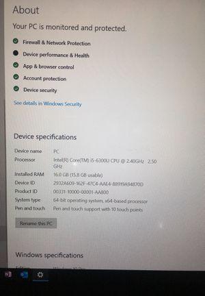 Lenovo ThinkPad Yoga 260 i5 16GB for Sale in Redmond, WA