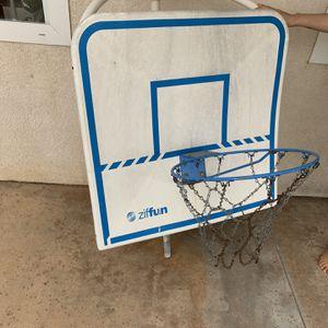 Basketball Hoop For Pool for Sale in Temecula, CA