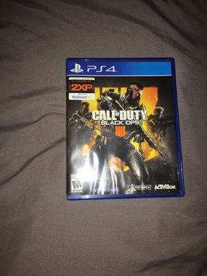 Black Ops 4 for Ps4 for Sale in Baldwin Park, CA