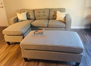 Brand new sectional sofa with ottoman for Sale in Silver Spring, MD