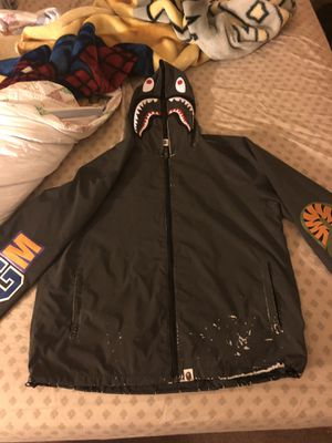 BAPE 3M SHARK HOODIE *READ DESCRIPTION* for Sale in North Chicago, IL