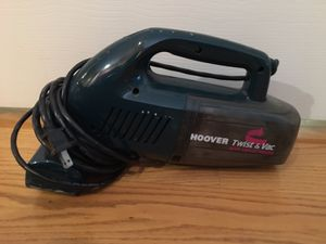HOOVER Twist & Vac With Swivel Nozzle Handheld Vacuum for Sale in Chicago, IL