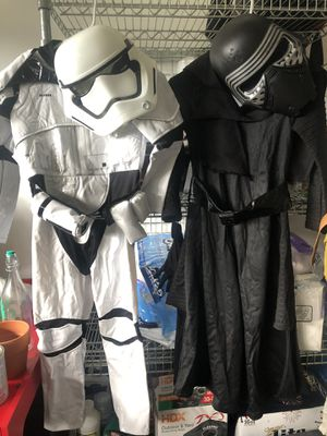 Kids Costumes (Star Wars & Lil red riding hood) for Sale in Weston, FL