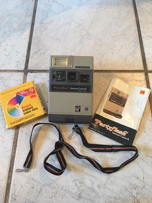 Vintage Party Flash Instant Camera-$20.00 for Sale in Phoenix, AZ