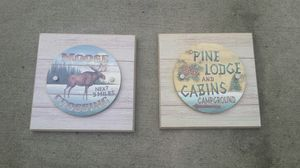 2 decorative wall signs for Sale in Apex, NC