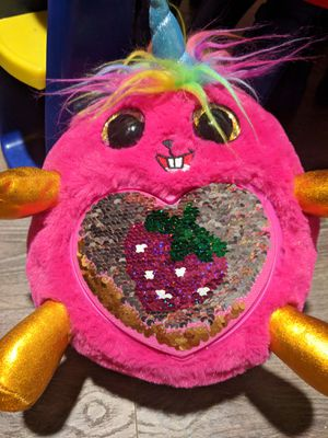 Rainbocorns Sequins Surprise Plushie $5 Firm for Sale in Fountain Valley, CA