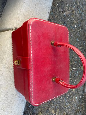 Vintage Red Cosmetic Case for Sale in Pleasant Hill, CA