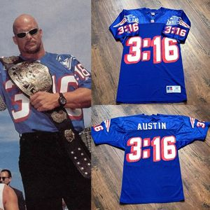 Patriots rare vintage jersey stone cold Steve Austin www WWF Brady Russell Bruins red Sox celtics for Sale in Henderson, NV