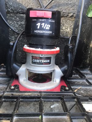 Craftsman router for Sale in Napa, CA