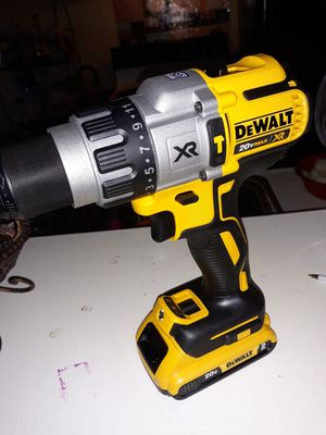 Brushless hammer drill nuevo xr2 con pila nuwva for Sale in Pasadena, TX