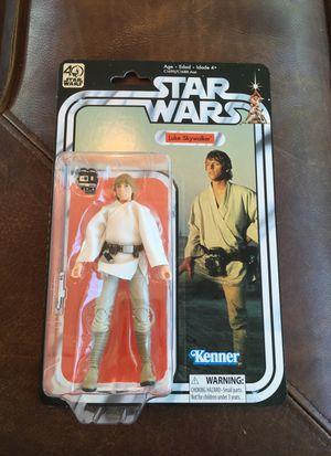 Star Wars Black Series 40th Anniversary Action Figure Luke Skywalker for Sale in Phoenix, AZ
