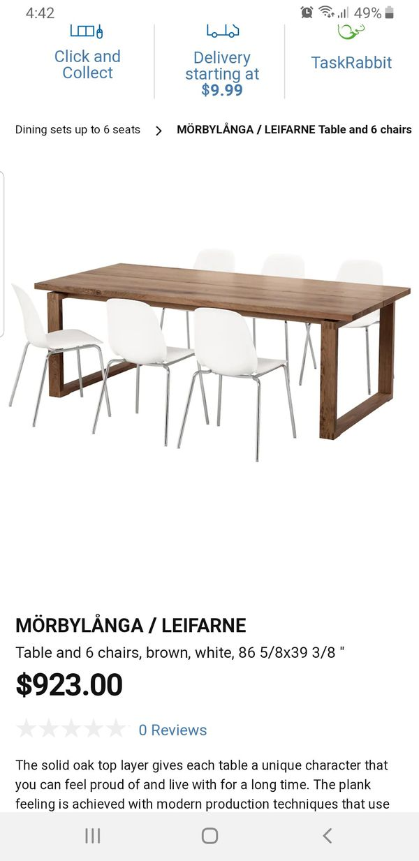 Ikea Morbylanga dining table for Sale in Los Angeles, CA