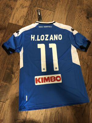 Napoli home Lozano soccer jersey for Sale in Frisco, TX
