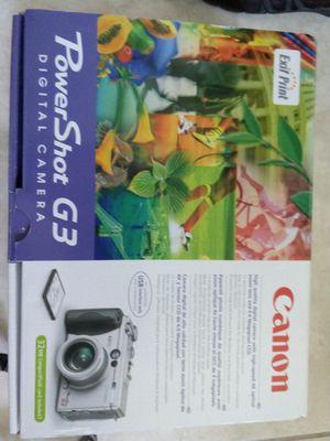 Canon PowerShot Camera G3 for Sale in Miami, FL