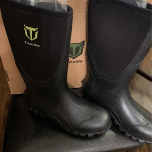 TIDEWE Rubber Boots for Men Multi-Season for Sale in Chicago, IL