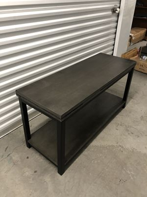 Shelf/ Coffee table/ Sofa table/tv stand 47x18 H24 for Sale in Las Vegas, NV