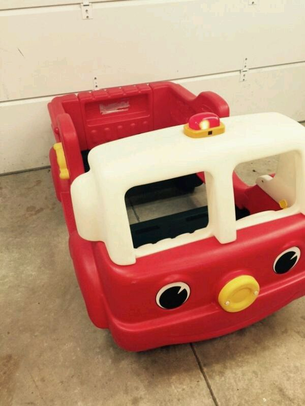 Little Tikes Step 2 Fire Engine Toddler Bed for Sale in ...