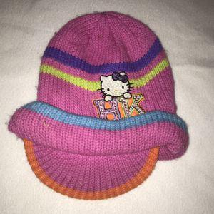Hello Kitty knit hat beanie girls little kids 5 6 7 8 A030 for Sale in Whittier, CA