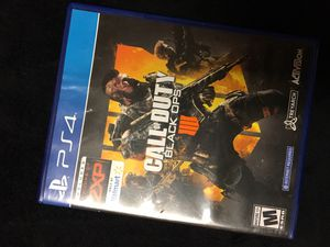 Black Ops 4 PS4 for Sale in Bloomington, CA