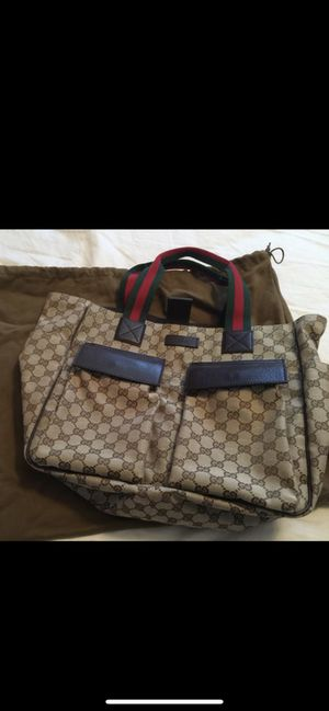 Authentic Gucci - Large Tote Bag for Sale in Naperville, IL