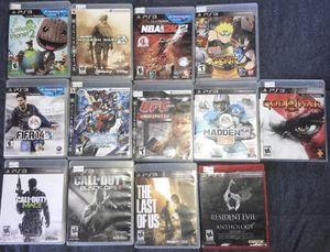 PS3 Games Bundle for Sale in Salem, MA