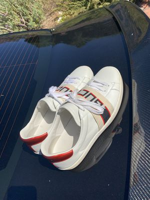 Gucci ace sneakers size 10 for Sale in Pasadena, CA