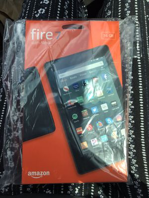 Amazon kindle fire 7 never opened. Brand new!! for Sale in Holiday, FL