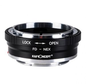 New K&F Concept lens adapter - Canon FD to NEX SONY MIRRORLESS CAMERA - video - dslr for Sale in West Covina, CA