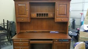 Large Desk, Hutch, and Credenza for Sale in Bend, OR
