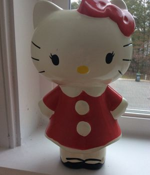 Hello kitty piggy bank for Sale in Raleigh, NC