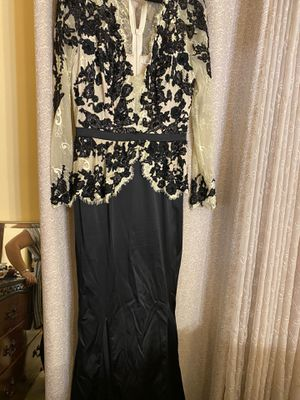 Evening long black dress . Prom dress for Sale in Takoma Park, MD