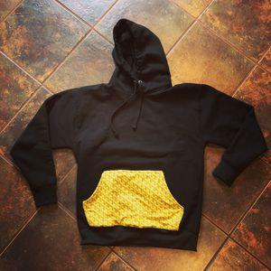 Size large yellow goyard pocket hoodie for Sale in Coronado, CA