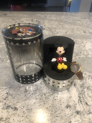2001 Mickey Mouse statue / watch for Sale in Brooksville, FL