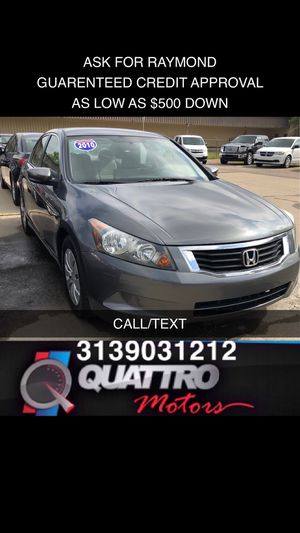 2010 Honda Accord LX for Sale in Redford Charter Township, MI