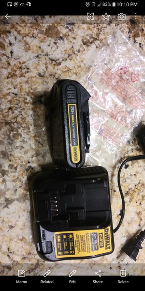 Dewalt charger and. Battery for Sale in Miami, FL
