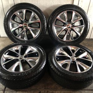 "20"" Dodge Durango RT Wheels Rims & Tires 265/50/20 for Sale in Santa Ana, CA"