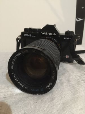 Yashica SLR Camera w/ Vivitar Lens for Sale in Saint Paul, MN