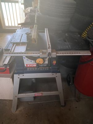 """Ryobi 10"""" portable table saw for Sale in Chino, CA"""