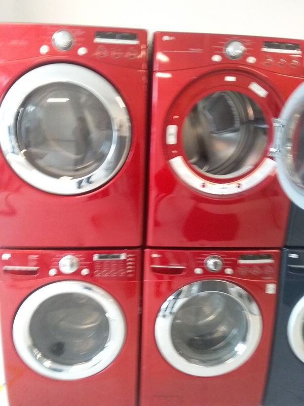 Lg washer and dryer used good condition 90days warranty staring 675 set