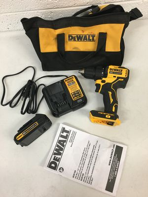 Dewalt ATOMIC 20 Volt MAX Brushless Compact 1/2 in. Drill Driver 1.3 Ah Battery included Tool Bag for Sale in Mesa, AZ