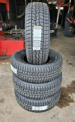 265/70/16 new all terrain tires for $520 with balance and installation we also finance ask for Dorian 7637 airline dr houston TX 77037 for Sale in Houston, TX
