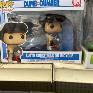 Dumb And Dumber Lloyd Christmas on Bicycle Funko Pop for Sale in Bellflower, CA